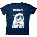 Mondays, I Hate Them T-Shirt: Grumpy Cat