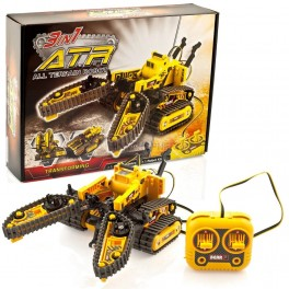 3-in-1 Remote Controlled All Terrain Robot: ATR