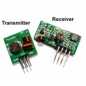 RF Link Transmitter & Receiver Module Pair: 433MHz or 315MHz (for Arduino & Raspberry Pi B / B+)