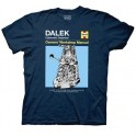 Dalek Owner's Workshop Manual T-Shirt: Doctor Who
