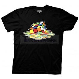 Melting Rubik's Cube T-Shirt: Rubik's