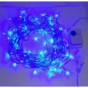 Blue 10m 8-Mode LED String Lights / Fairy Lights / Christmas Lights