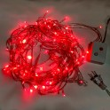 Red 10m 8-Mode LED String Lights / Fairy Lights / Christmas Lights