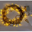 Yellow 10m 8-Mode LED String Lights / Fairy Lights / Christmas Lights