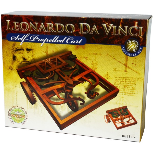 19 99 Leonardo Da Vinci Self Propelled Cart Model Kit