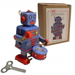 Drumming Tin Robot