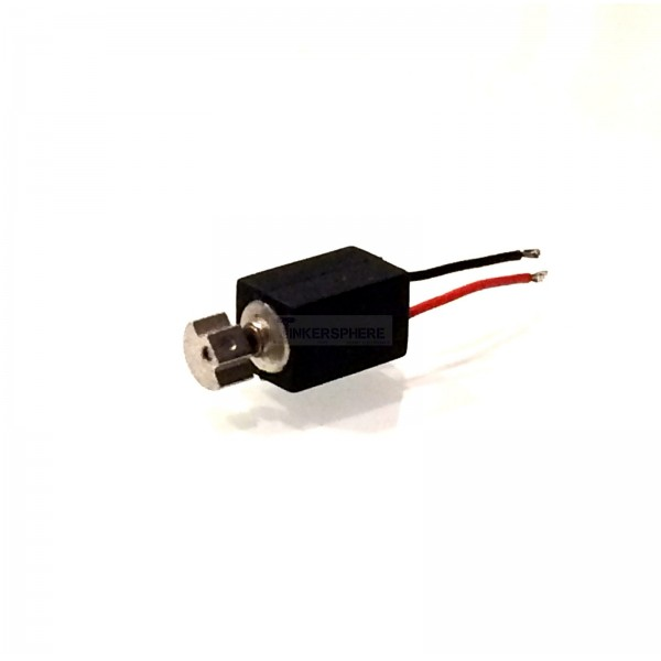 Micro Vibrating Motor With Wire Leads 1 5v 3v