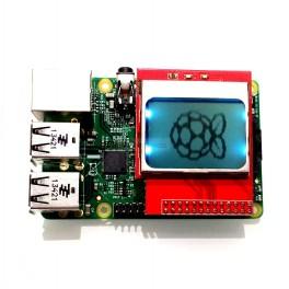 Raspberry Pi A+ / B+ Monochrome LCD Shield: Nokia PCD8544