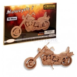 Motorcycle Wood Model