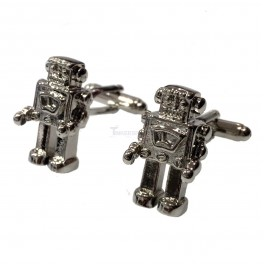 Robot Cufflinks (1 Pair)