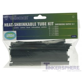 Heat Shrink Tube Kit - 40 Pcs