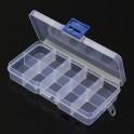 10 Compartment Electronics Storage Box