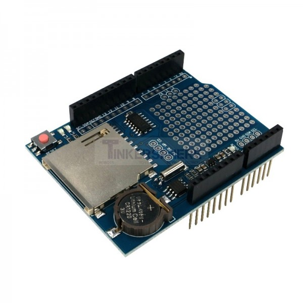 Data logger shield for arduino tinkersphere