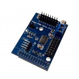 Raspberry Pi Servo / PWM Hat - 16 Channel