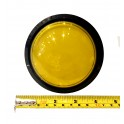 Big Dome Pushbutton - Yellow Illuminated 100mm