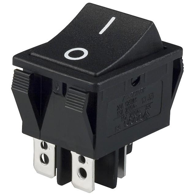 $3.49 - Rocker Switch DPST 4 Pin - Tinkersphere