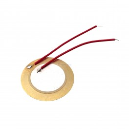 27mm Piezo Element (Vibration / Knock Sensor)