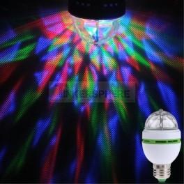 Rotating Disco Light Bulb