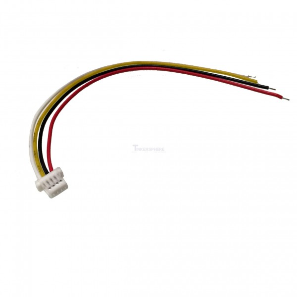 $2.49 - Micro 4 Pin JST SH Connector with Wire - Tinkersphere