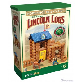 Lincoln Logs Horseshoe Hill Station