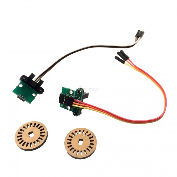 10 99 - rotary encoder  u0026 wheel set
