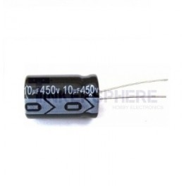 10uF 450V Electrolytic Capacitor