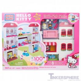 MegaBloks Hello Kitty Deluxe Vacation Village