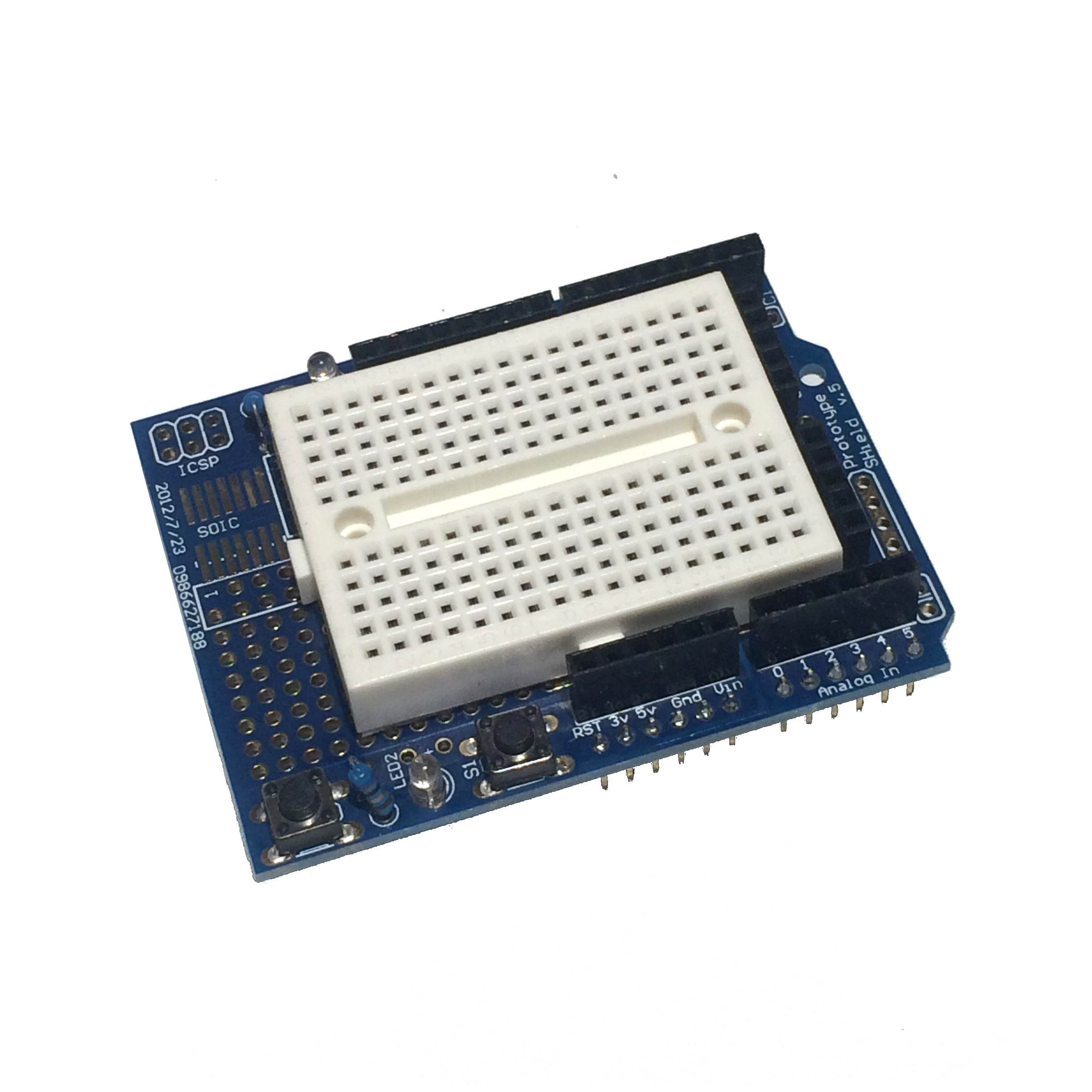 Protoshield for arduino uno r tinkersphere