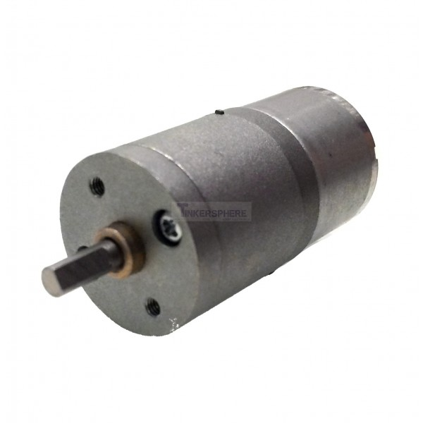 Low speed dc motor 12v 375 rpm tinkersphere for Low rpm electric motor for rotisserie