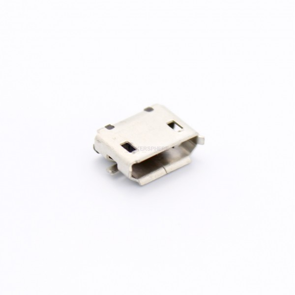 0 99 Female Micro Usb Solder Connector Tinkersphere