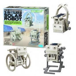 Mini Solar Robot 3 in 1