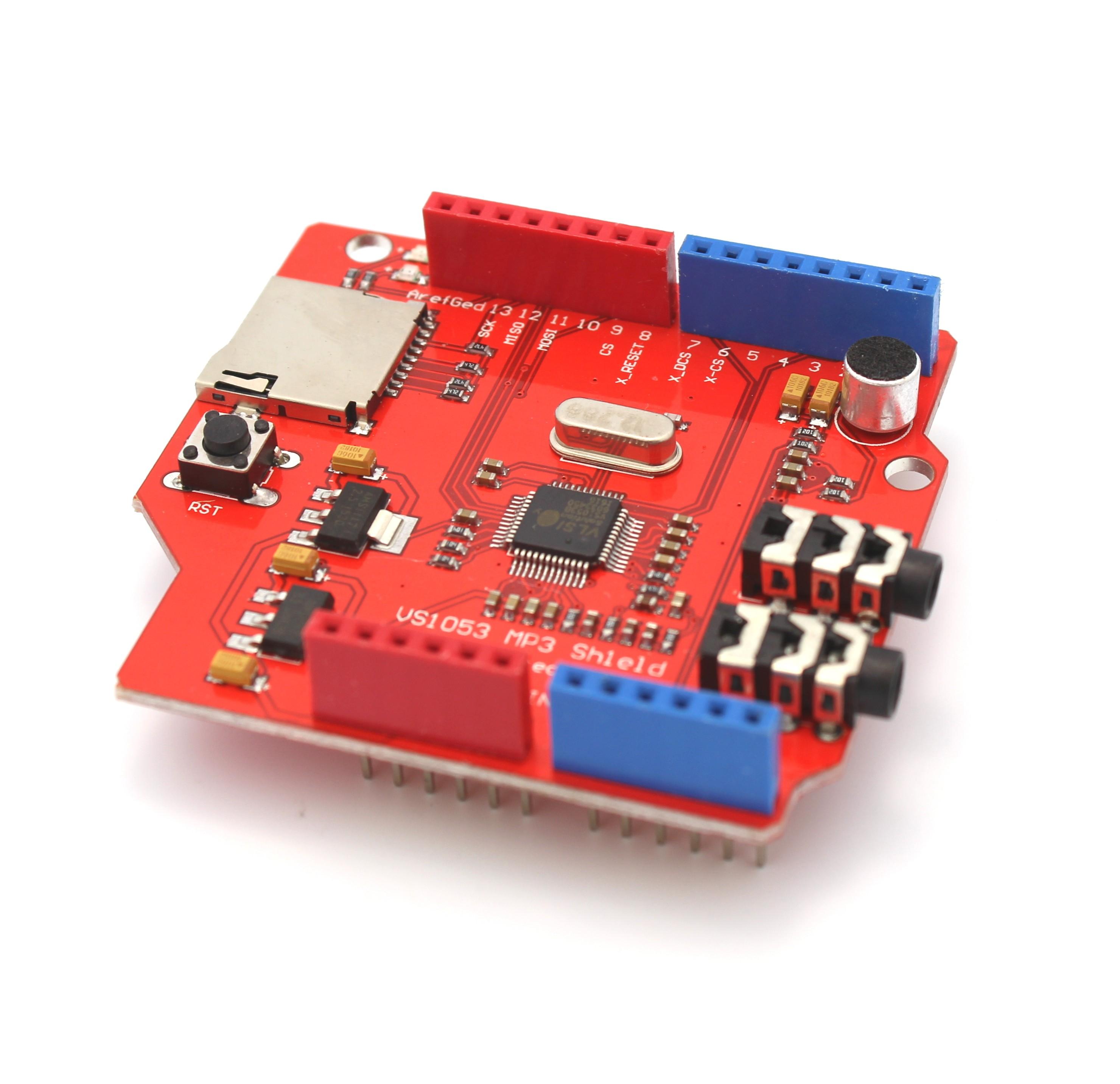 Music maker shield for arduino vs tinkersphere