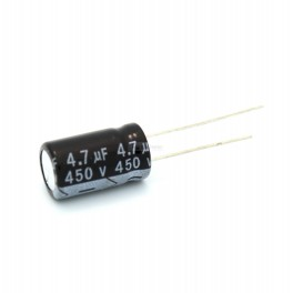 4.7uF 450V Electrolytic Capacitor