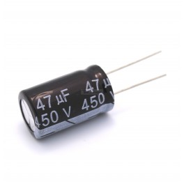 47uF 450V Electrolytic Capacitor