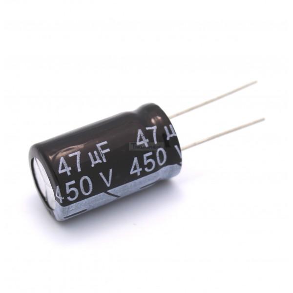 1 29 47uf 450v Electrolytic Capacitor Tinkersphere