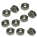 "6-32 x 5/16"" x 7/64"" Hex Machine Screw Nuts (10pk)"