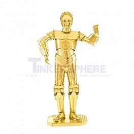 Metal Earth Gold C-3PO