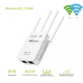 PIX-LINK AC1200 Dual Band WiFi Range Extender Repeater