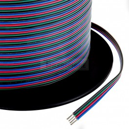 RGB LED Strip Cable by the foot