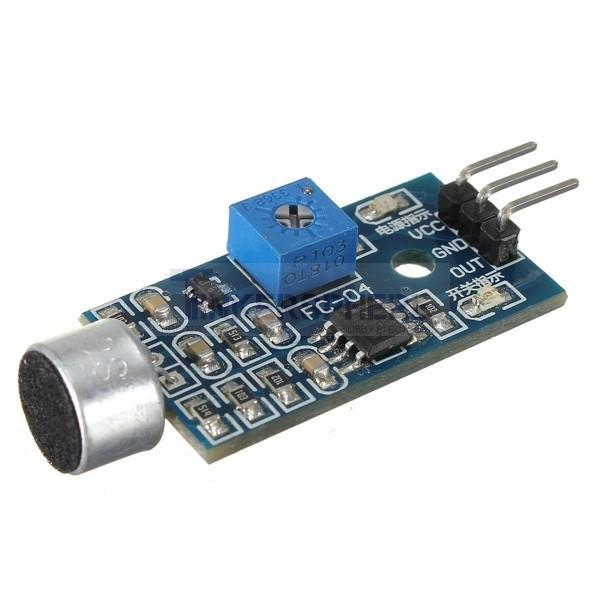 Microphone sound detector arduino compatible