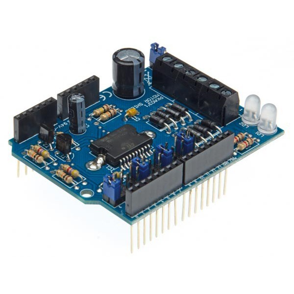 Arduino motor power shield kit tinkersphere