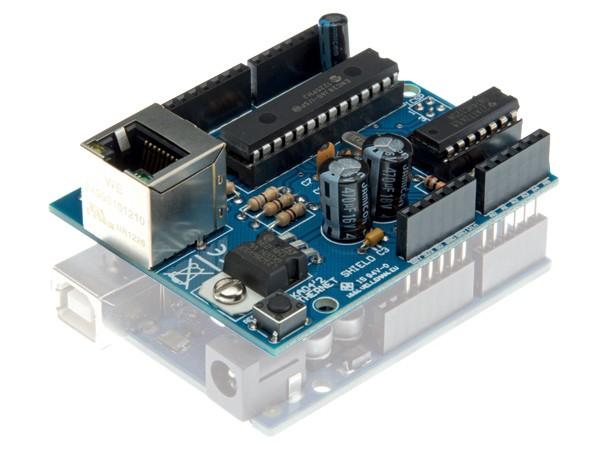 Arduino ethernet shield kit tinkersphere