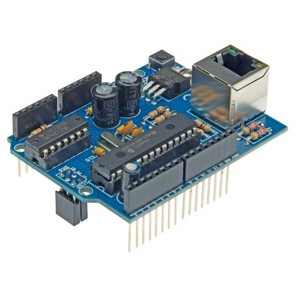 Arduino ethernet shield kit tinkersphere