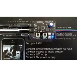 Lumazoid Kit - Realtime Music Vizualizer Board