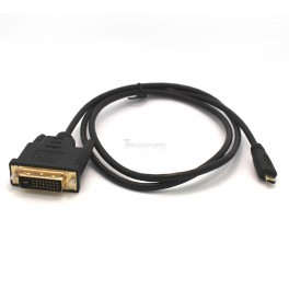 Micro HDMI to DVI Cable - 3.28ft