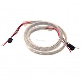 High Density RGBW LED Strip - Addressable 1m (NeoPixel Compatible, Waterproof)