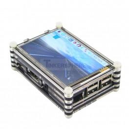 "Raspberry Pi 3.5"" Touchscreen Case"