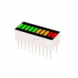 LED Bar Graph: Red Yellow Green