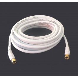 Gold Plated Coax Cable 25ft