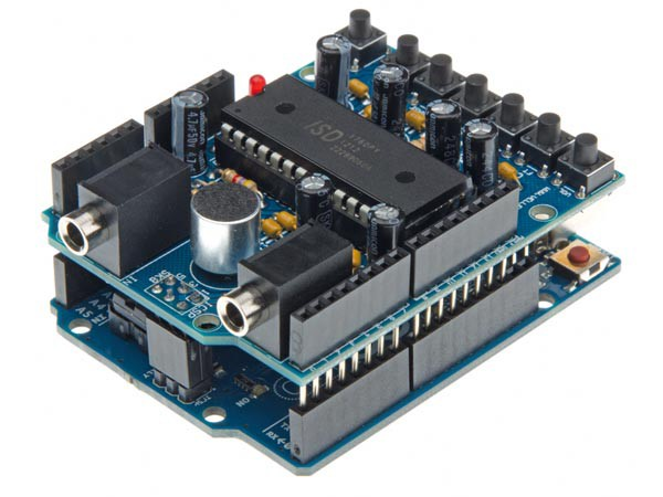 Arduino audio shield kit tinkersphere